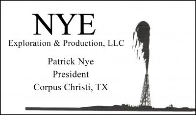 Patrick Nye - NYE Exploration and Production, LLC