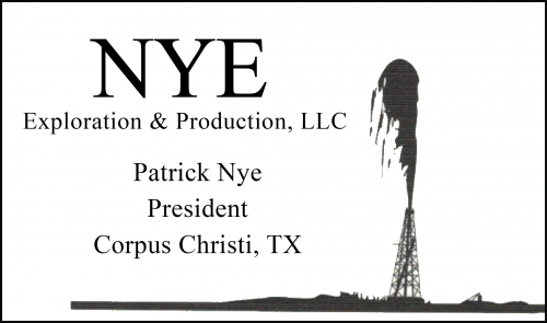 Patrick Nye - NYE Exploration and Production, LLC