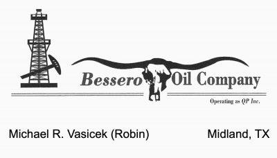 Bessero Oil Robin Vasicek